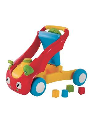Машинка - ходунок 2 в 1 ELC. Цвет: красный, голубой, желтый