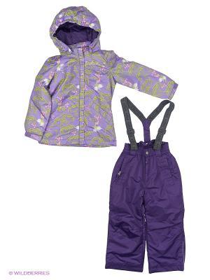 Комплект одежды REIKE. Цвет: сиреневый, темно-зеленый, хаки