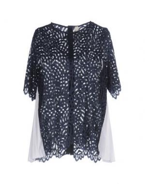Блузка SOUVENIR. Цвет: темно-синий