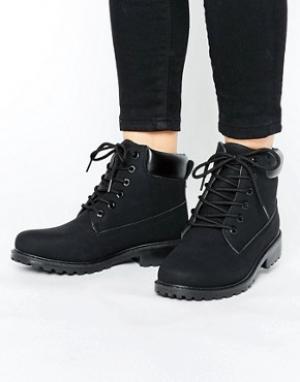Park Lane Ботинки на толстой подошве. Цвет: черный