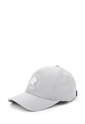 Бейсболка Zasport. Цвет: серый