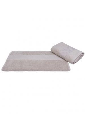 Махровое полотенце 50x90 RUZANNA, бежевый, 100% хлопок HOBBY HOME COLLECTION. Цвет: бежевый