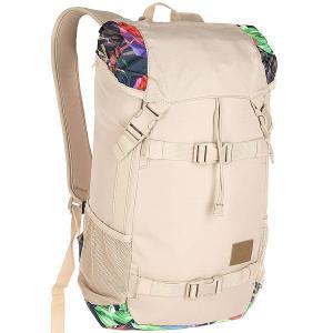 Рюкзак туристический  Landlock Backpack Se Khaki/Multi Nixon. Цвет: бежевый,мультиколор
