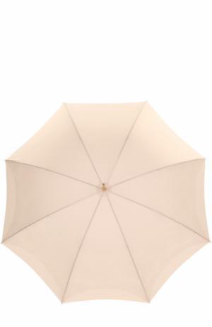Зонт-трость Pasotti Ombrelli. Цвет: кремовый