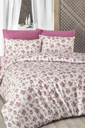 Double Quilt Cover Set Victoria. Цвет: white, pink, brown