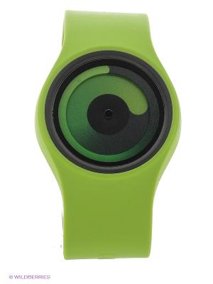 Наручные часы Gravity Green - Ziiiro. Цвет: зеленый