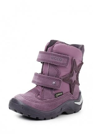 Ботинки SNOWRIDE ECCO. Цвет: фиолетовый