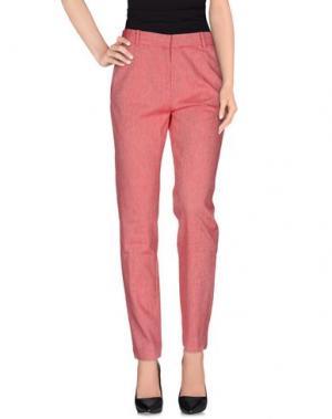 Повседневные брюки OTTOD'AME. Цвет: кирпично-красный