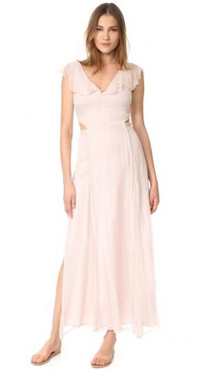 Макси-платье Auden Cleobella. Цвет: розовый