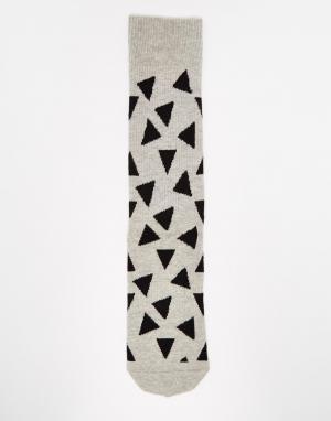 Happy Socks Носки. Цвет: серый