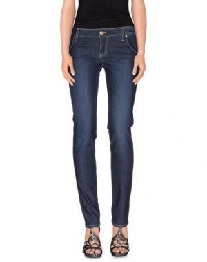 Джинсовые брюки TAGLIA42. Цвет: синий