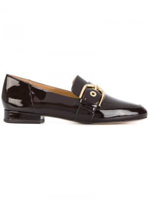 Buckled loafers Michael Kors. Цвет: коричневый