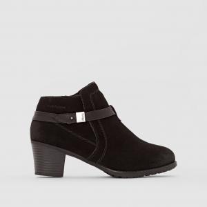 Ботинки на низком каблуке Maria HUSH PUPPIES. Цвет: черный