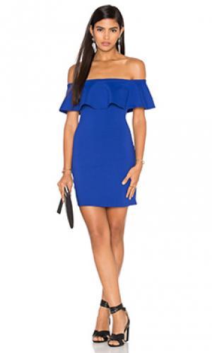 Платье hannah Susana Monaco. Цвет: синий