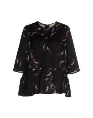 Блузка GARAGE NOUVEAU. Цвет: черный