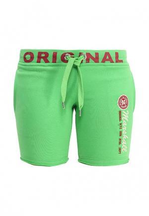 Шорты Marshall Original. Цвет: зеленый