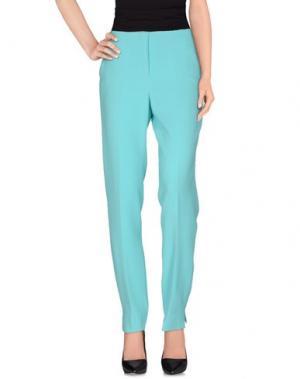 Повседневные брюки FONTANA COUTURE. Цвет: бирюзовый