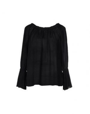 Блузка MONICA •LENDINEZ. Цвет: черный