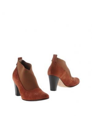 Ботинки F.LLI BRUGLIA. Цвет: ржаво-коричневый