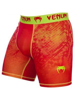 Компрессионные шорты Venum Fusion Compression Shorts - Orange Yellow. Цвет: желтый, оранжевый