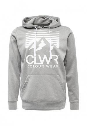 Худи CLWR. Цвет: серый
