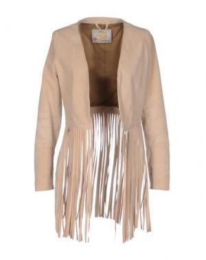 Куртка VINTAGE DE LUXE. Цвет: песочный