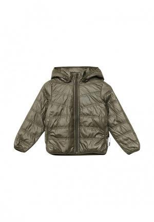 Куртка утепленная Name It. Цвет: зеленый