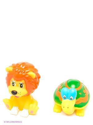 Набор для купания Львенок и Черепаха Играем вместе. Цвет: желтый