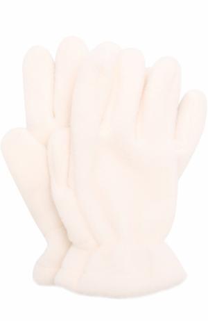 Текстильные перчатки Catya. Цвет: белый