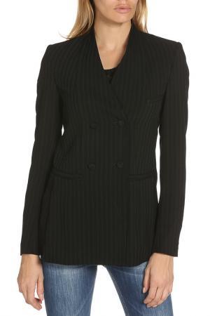 Пиджак Dondup. Цвет: черный полосы