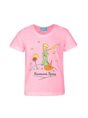Футболка Маленький Принц Классический. Цвет: розовый