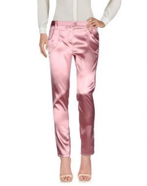Повседневные брюки PETER A & CHRONICLES. Цвет: пастельно-розовый