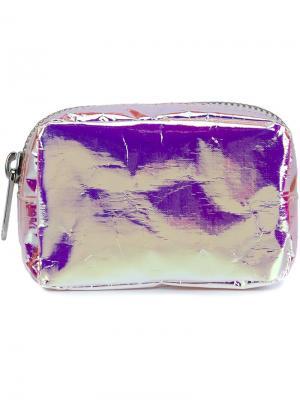 Маленький кошелек с переливом Zilla. Цвет: розовый и фиолетовый