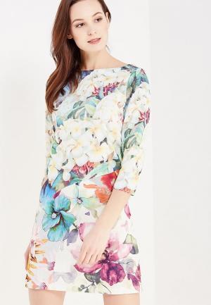 Платье Taya. Цвет: разноцветный