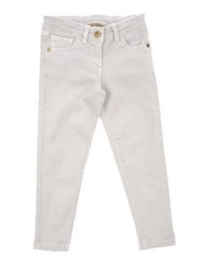 Джинсовые брюки MANILA GRACE DENIM. Цвет: светло-серый