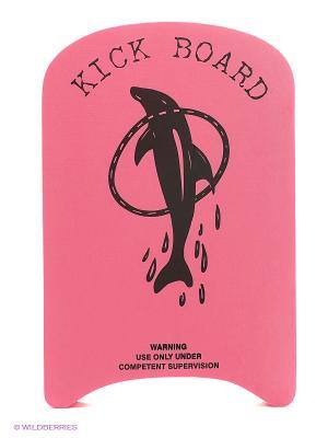 Доска для плавания КВ01 Larsen. Цвет: розовый