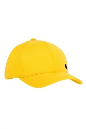 Желтая бейсболка ZASPORT. Цвет: желтый