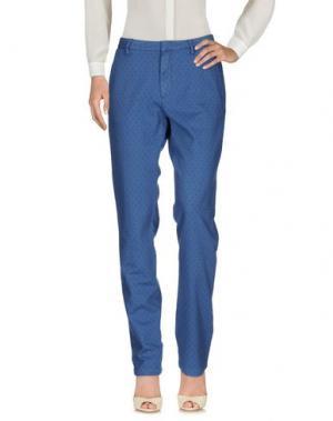 Повседневные брюки TRUE NYC.. Цвет: синий