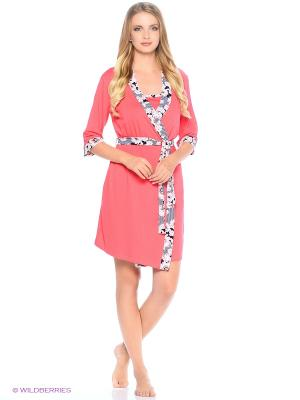 Костюм домашней одежды HomeLike. Цвет: коралловый