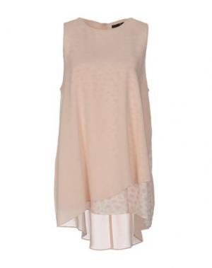 Топ без рукавов SLY010. Цвет: розовый