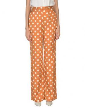 Повседневные брюки NICE THINGS by PALOMA S.. Цвет: коричневый