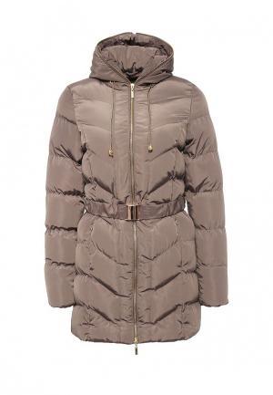 Куртка утепленная Emoi. Цвет: хаки