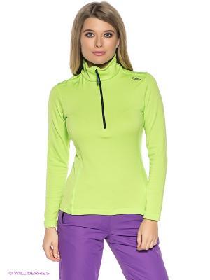 Джемпер CMP. Цвет: светло-зеленый