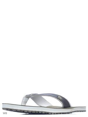 Шлепанцы WOODLAND. Цвет: оливковый