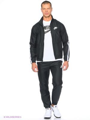 Спортивный костюм M NSW TRK SUIT WVN SEASON Nike. Цвет: черный, белый