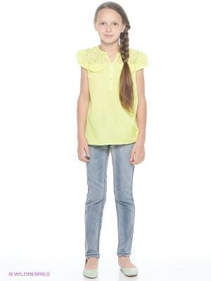 Блуза Young Reporter. Цвет: салатовый