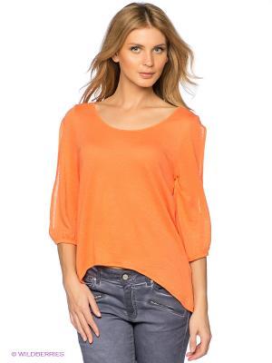 Кофточка Natali Silhouette. Цвет: оранжевый