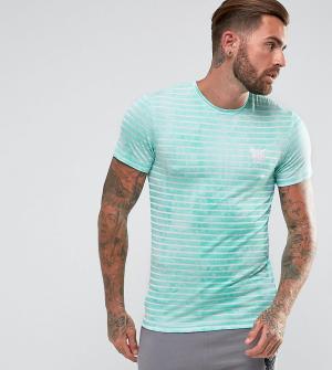Good For Nothing Обтягивающая футболка мятного цвета в полоску. Цвет: зеленый