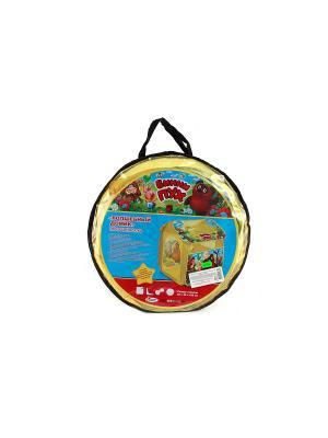 Детская игровая палатка Играем Вместе винни-пух. Цвет: желтый, коричневый