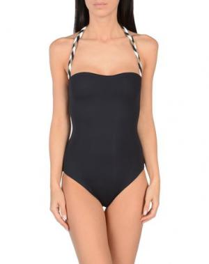Слитный купальник S AND. Цвет: черный